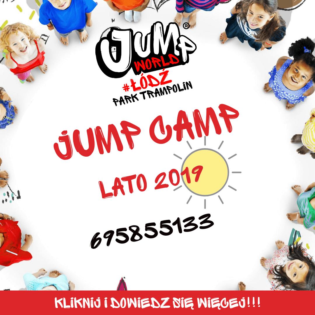 Półkolonie dla dzieci 2019 Łódź - Jump Camp